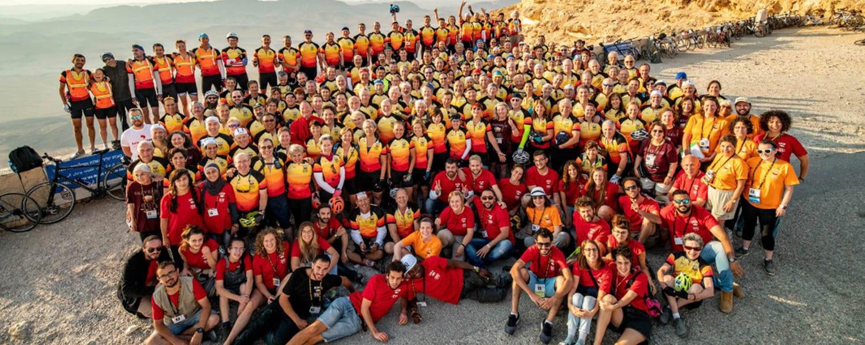 Sholom Riders Crush the Israel Ride!