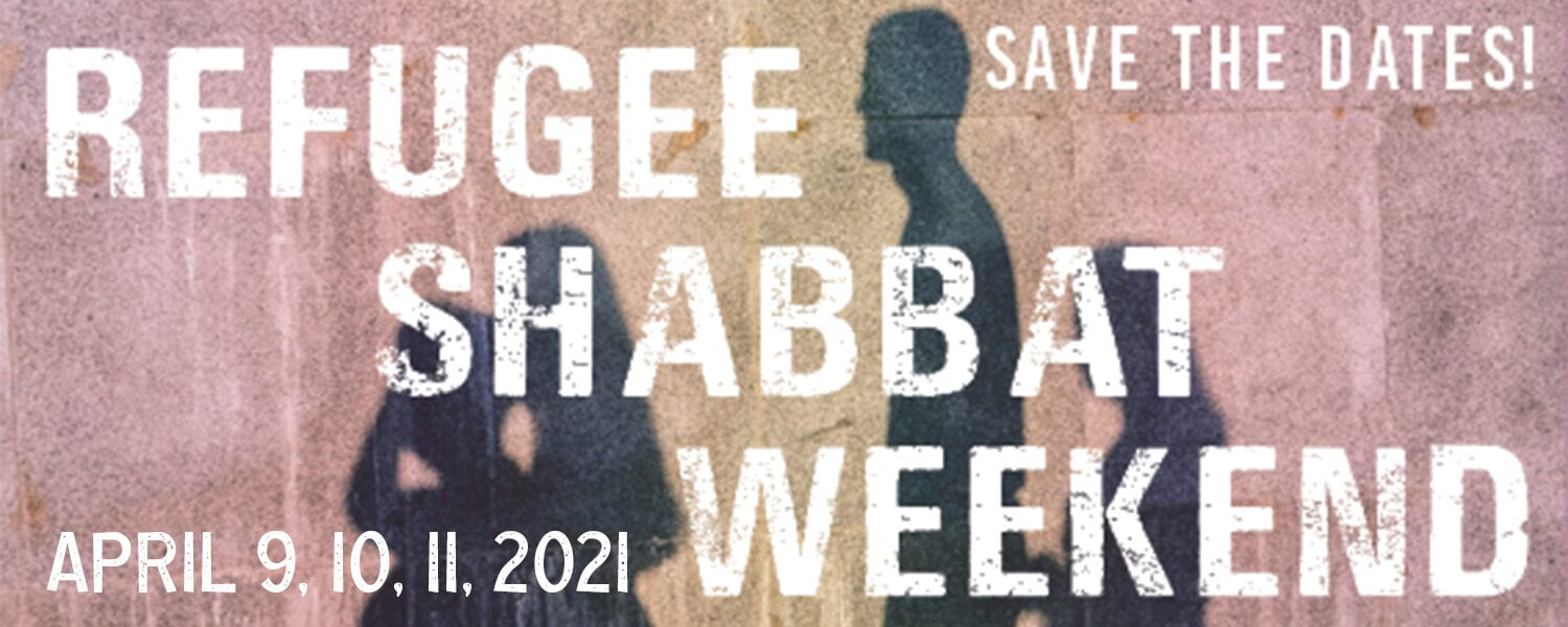 Refugee Shabbat Weekend