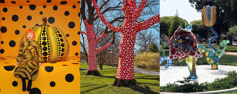 Kusama: Cosmic Nature Garden & Gallery Exhibit at the New York Botanical Garden